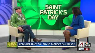 Missouri's own David Koechner is grand marshal of St. Patrick's Day Parade - Video