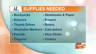 Operation School Bell: Back-To-School Supply Drive