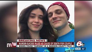 Deaths of couple found dead, locked in embrace in Madison County field ruled murder-suicide - Video