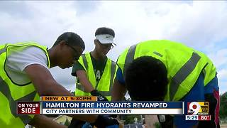 Hamilton fire hydrants revamped - Video
