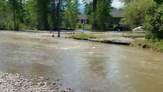 Evacuated Residents Warned River Levels Will Rise Again in Missoula - Video