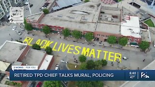 Former Police Chief, Weighing in on BLM Mural Discussion
