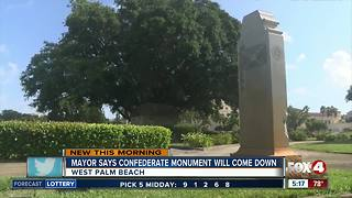 Florida city to remove Confederate monument - Video