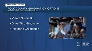 Polk County Public Schools asking students for input on 2020 graduation ceremony plans