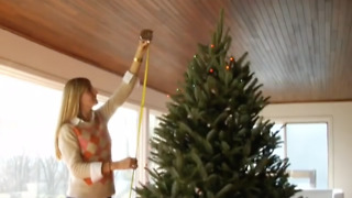 How to String Christmas Tree Lights - Video
