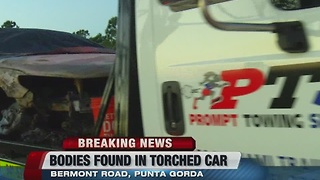 Suspicious car fire upgraded to homicide investigation - Video