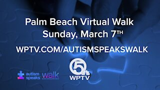 Autism Speaks Palm Beach Walk to be held virtually on Sunday, March 7, 2021