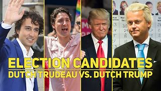 Why two Dutch candidates look familiar to the world! - Video