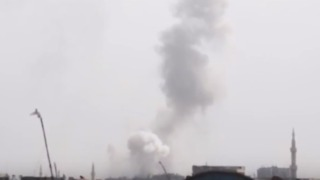 Explosions Reverberate as Strikes Pound East Ghouta - Video