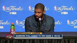 Warriors pull ahead to win Game 3, 118-113 - Video