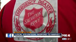Florida members of Salvation Army head to Texas - Video