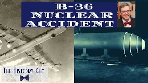 B-36 Bomber Nuclear Accident, Albuquerque, 1957