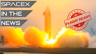 Starship GO for Launch #2, Sea Spaceports Located   SpaceX in the News