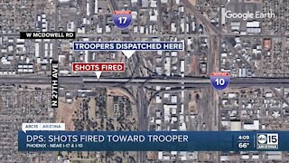Multiple people in custody after shots fired at DPS vehicle in Phoenix