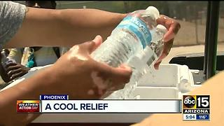 Dehydration in Phoenix a real threat during summer time - Video