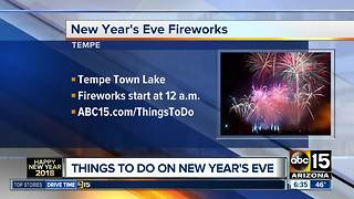 Things to do on New Year's Eve in the Valley