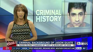 JASON QUATE CRIMINAL HISTORY - Video