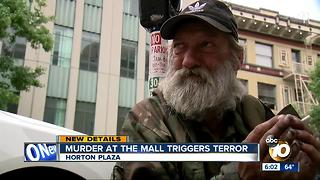 Murder at local mall triggers deep terror - Video