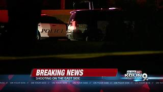 TPD investigating shooting on eastside