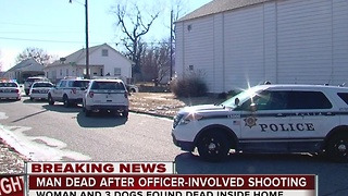 Woman, 3 dogs found dead; suspect killed by TPD - Video