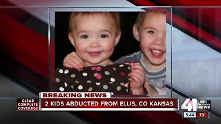 AMBER Alert issued for 2 Kansas kids - Video