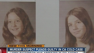 Arrested California murder suspect pleads guilty to cold case