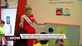 Pageant queen spreading message of love and inclusivity - Video