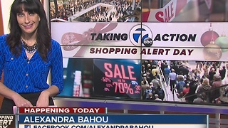 Taking Action Shopping Alert Day: Store hours for Black Friday deals
