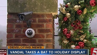 Neighbors Join Forces To Catch Holiday Vandal - Video
