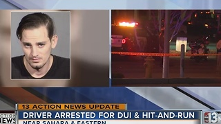 UPDATE: Driver arrested on DUI, hit-and-run charges after crashing into police car