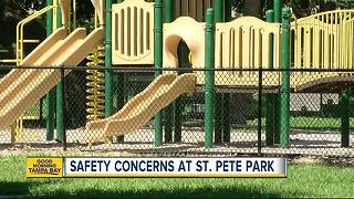 Safety concerns at Old Northeast St. Pete park; Coffee Pot Park neighbors urged to use Nextdoor app - Video
