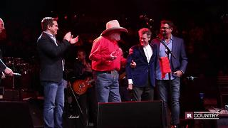 Charlie Daniels accepts the Rare Country Humanitarian of the Year Award | Rare Country - Video