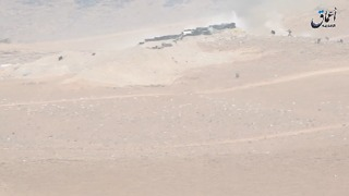 Islamic State Fighters Reenter Ancient Town of Palmyra - Video