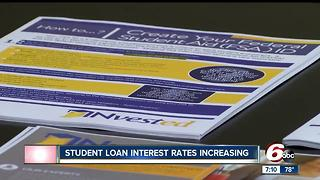 Student loan interest rates increasing