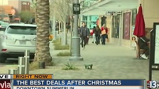 The best deals happen after Christmas - Video