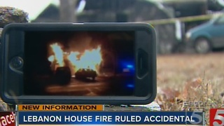 1 Killed, 2 Injured In Lebanon House Fire - Video