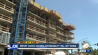 Report shows housing affordability will get worse - Video