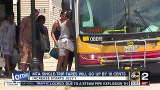 MTA single-trip fares to increase by 10 cents July 1 - Video