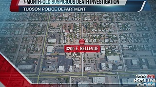 TPD investigating suspicious death of 7-month-old - Video