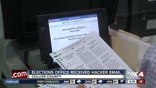 Collier elections office nearly gets hacked