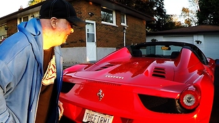 Anonymous Ferrari Owner Makes Dream Come True For Young Cancer Survivor - Video