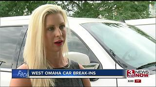 West Omaha car break-ins - Video