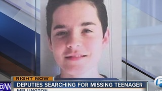 Teenager missing - Video