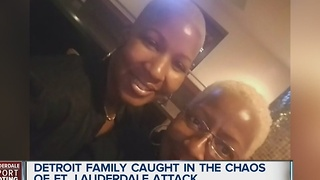 Detroit family caught in chaos of Ft. Lauderdale airport shooting - Video