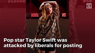 Taylor Swift Attacked For Instagram Post - Video