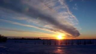 Stunning Timelapse Shows Sun Setting in Winnipeg - Video