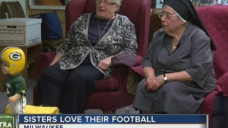 MKE nuns watch Packers playoff win - Video