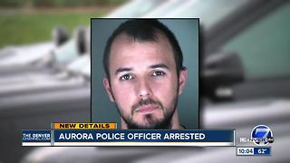 Aurora police officer charged with official misconduct, attempting to influence public servant - Video
