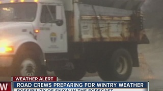 City of Tulsa officials getting ready for possible snow - Video