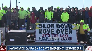 First responders tell drivers to